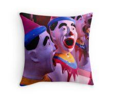 clowning around Throw Pillow
