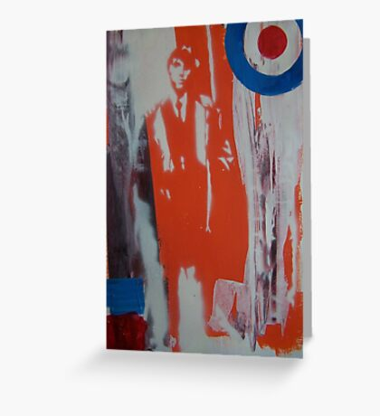 jimmy the mod Greeting Card