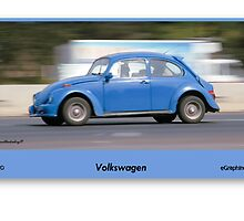 Volkswagen Rips past - drive-by shooting by Paul Lindenberg