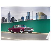 1968 Ford ZA Fairlane Poster