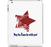 May The Force iPad Case/Skin