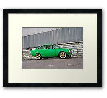 Green Mazda R100 Framed Print