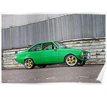 Green Mazda R100 Poster