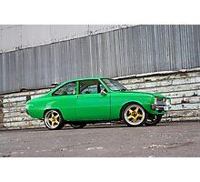 Green Mazda R100 Photographic Print