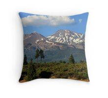 Mt. Shasta Throw Pillow
