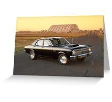 Black Ford XR Falcon Greeting Card