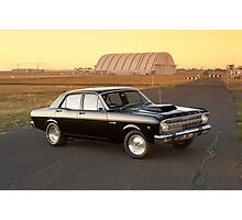 Black Ford XR Falcon Photographic Print