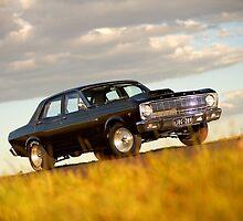 Black Ford XR Falcon by John Jovic