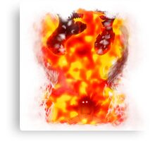 Natsu dragon slayer Canvas Print