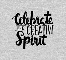 Celebrate the Creative Spirit - Black Design Unisex T-Shirt