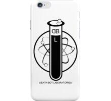 Deathbot Laboratories Logo iPhone Case/Skin