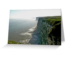 Bempton Cliffs Greeting Card