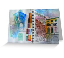 Italy 4 Greeting Card