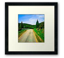 Dorothy's Alternative Route Framed Print