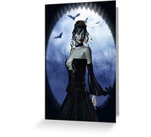 Vampire princess Greeting Card