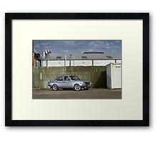 Silver Mazda RX2 Framed Print