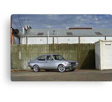 Silver Mazda RX2 Canvas Print