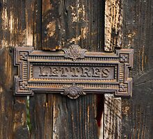 Lettres - Letters by Franz Roth