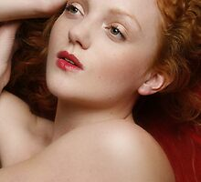 Red 2 - Ivory Flame by Andy G Williams