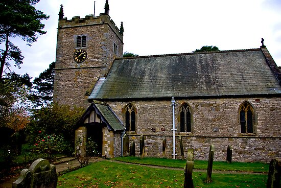The Church - Nunnington. by Trevor Kersley