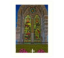 Window #1 Art Print