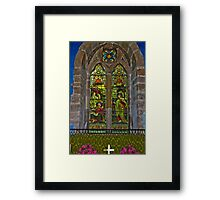 Window #1 Framed Print