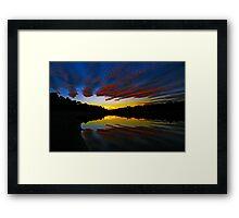 Amped Framed Print