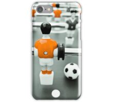 Table Football 02B - Defender | Orange iPhone Case/Skin