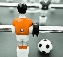 Table Football 02B - Defender | Orange by Pete Edmunds