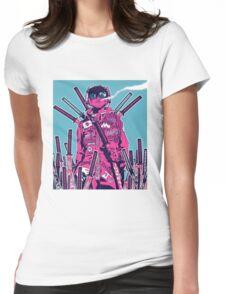 Swordmaster Graveyard Womens Fitted T-Shirt