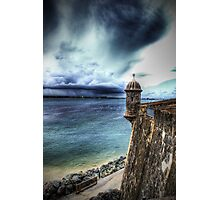 La Garita del Morro, Old San Juan, Puerto Rico Photographic Print