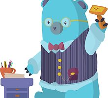 Teacher Bear! by corryny