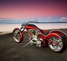Custom Chopper by Tony Rabbitte