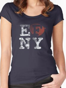 EFNY Women's Fitted Scoop T-Shirt