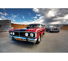 XYGT Ford Falcons Photographic Print
