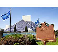 Rock and Roll Hall of Fame  Photographic Print
