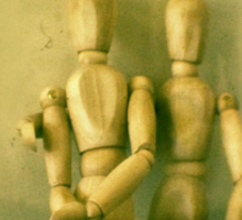 a stilted companionship Sticker