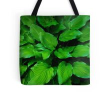 Green Foliage Tote Bag