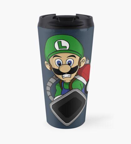"""Ghost Huntin' Luigi"" Travel Mug"