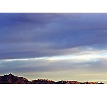 Evening Mountains Photographic Print