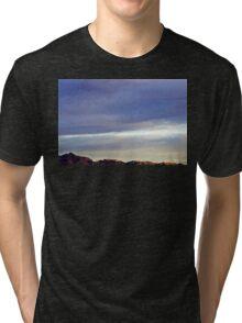 Evening Mountains Tri-blend T-Shirt