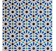Seville Mosaic - totes, cases, prints Photographic Print