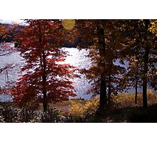 WATAUGA RIVER AUTUMN  (Larger view best) Photographic Print