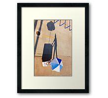 Shadow À la mode Framed Print