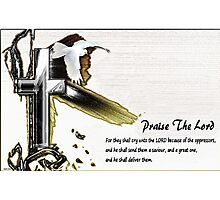 Praise The Lord Photographic Print