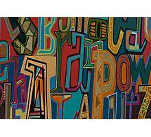 Design Graffiti Photographic Print