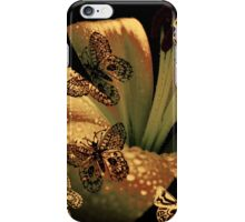 Lily and Butterflies iPhone Case/Skin