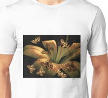 Lily and Butterflies Unisex T-Shirt