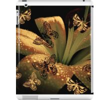 Lily and Butterflies iPad Case/Skin