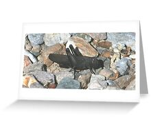 Grasshopper, NW Red-winged Greeting Card